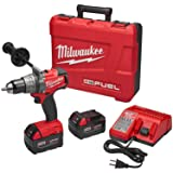 Milwaukee Electric Tools 2803-22 Drill Driver Kit (Color: RED / BLACK)
