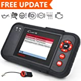 LAUNCH Creader VIII OBD2/EOBD Scanner ENG/ABS/SRS/Transmission Automotive Code Reader Diagnostic Scan Tool SAS/EPB/OilLamp Reset- Free Update (Tamaño: X431 CRVIII)