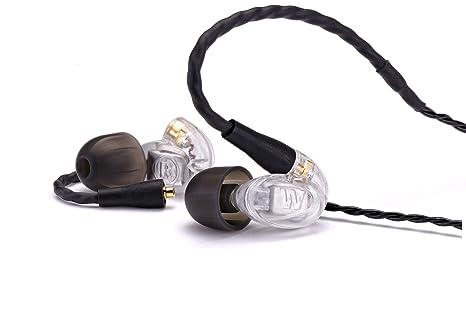 Westone UM Pro 10 Ecouteurs intra-auriculaires + 10 paires d'embouts + Câble détachable Transparent