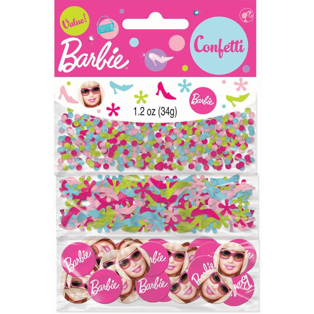 Amscan 225894 Barbie Wert Confetti Partyhits – Multi-Colored als Weihnachtsgeschenk