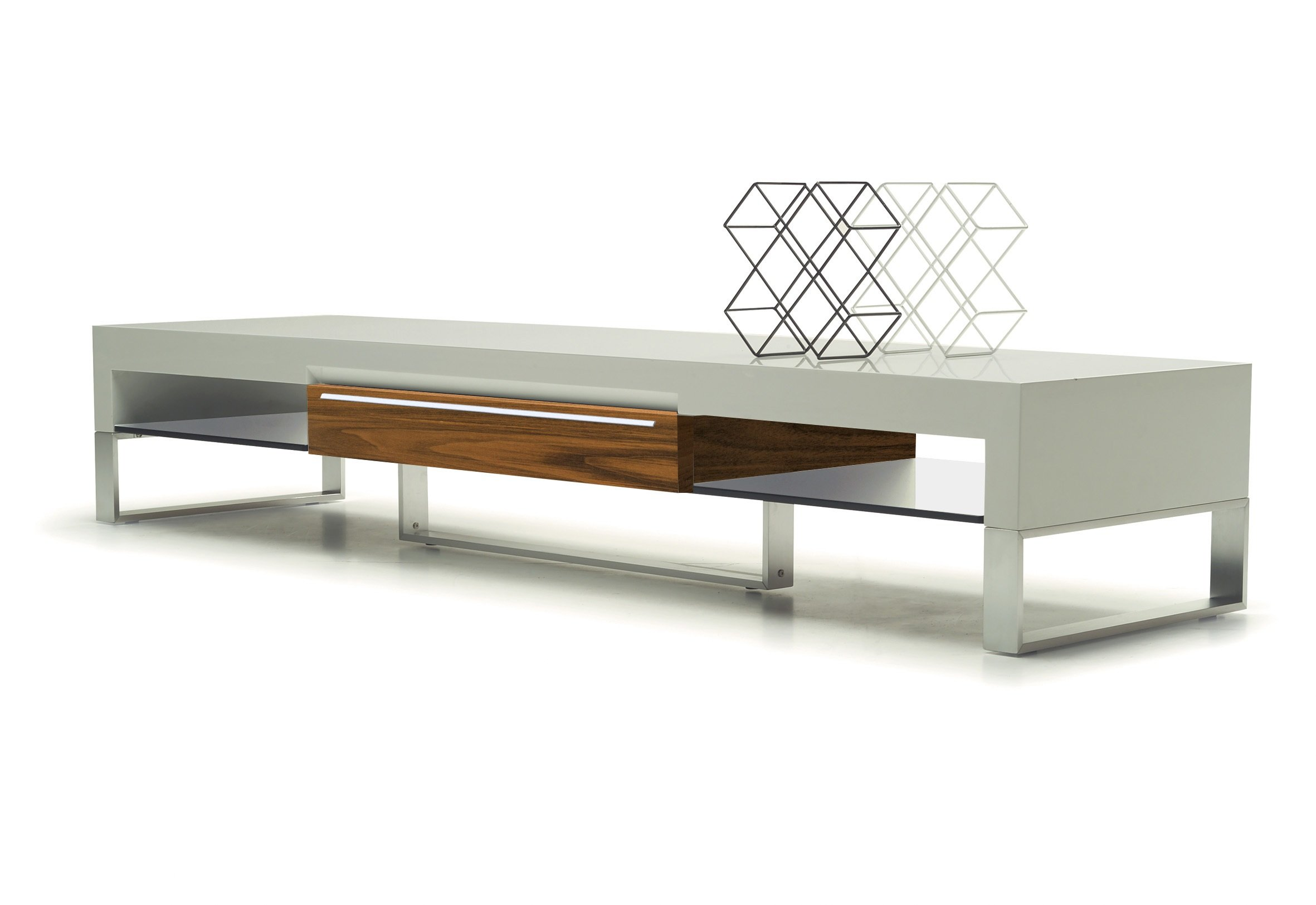 EXCLUSIVE MODERN FURNITURE EDITION #33: Carlson U0026 Forster Pearl Large  Modern Tv Stand White