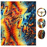 Geesy Water Transfer Printing Hydrographic Film Hydro Dipping Hydro Dip Film for Decor (Tamaño: Small)