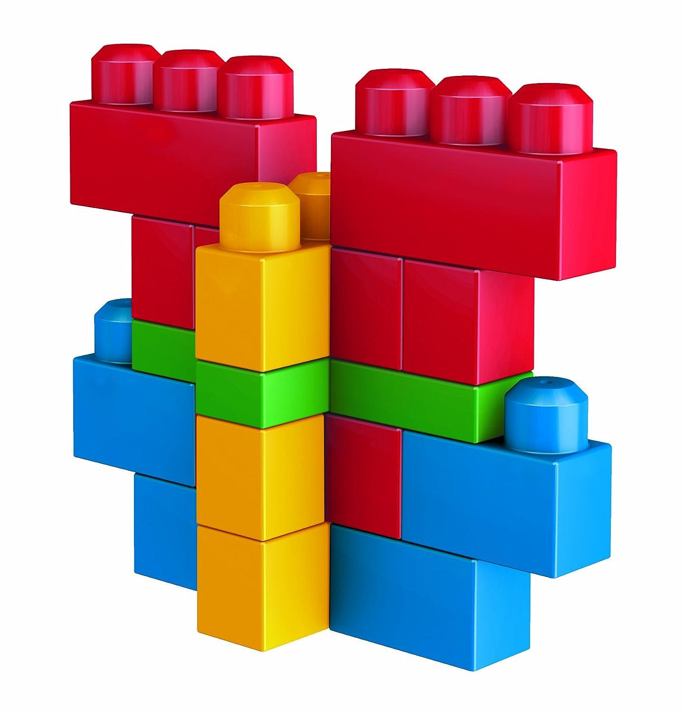 Mega Bloks First Builders Deluxe Building Bag 160 Piece