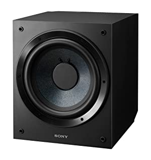 Sony SACS9 10-Inch Active Subwoofer (Color: Black, Tamaño: 10 Active Powered Subwoofer )