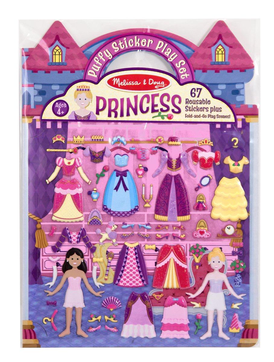 Princess Palace Puffy Sticker Scenes Playset