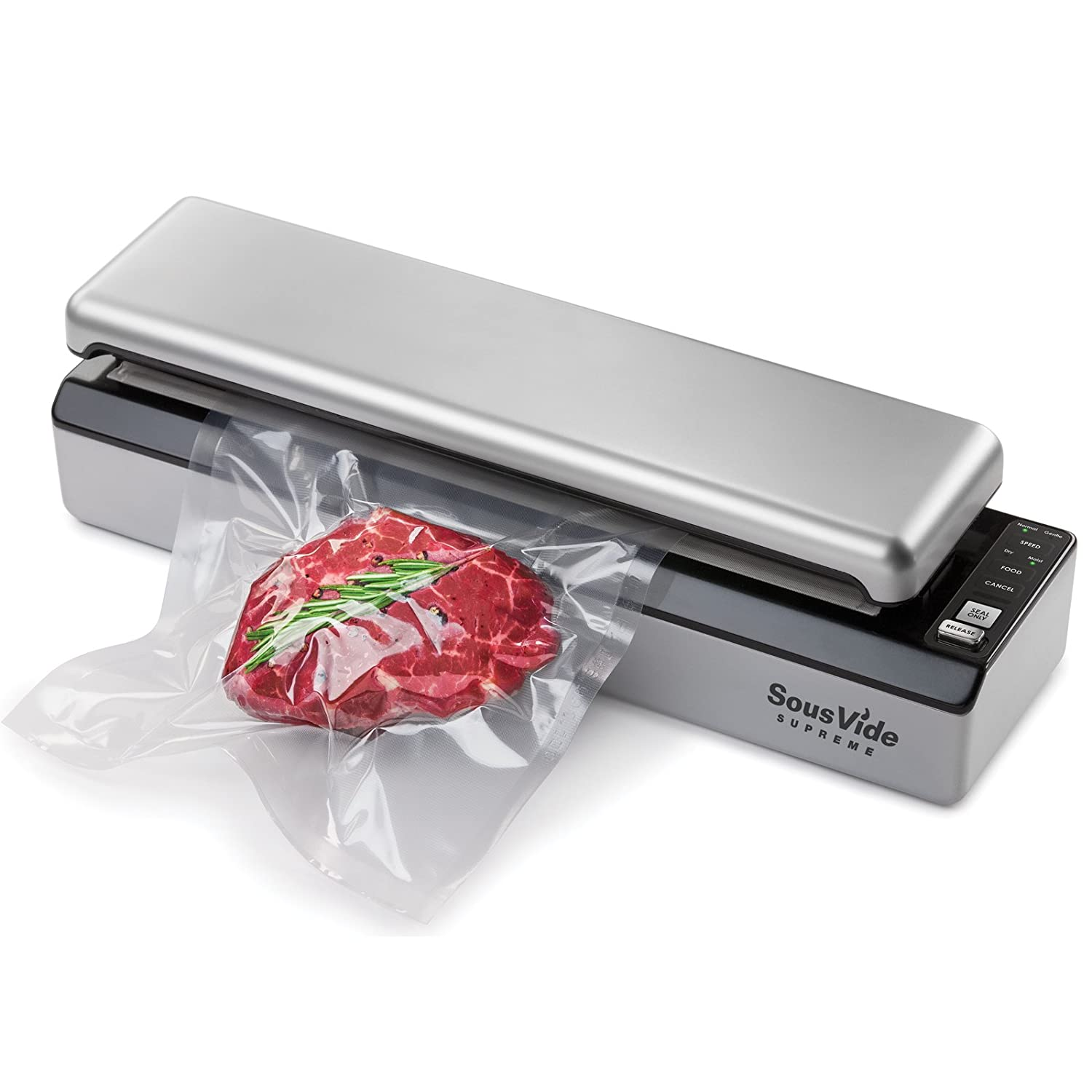 SousVide Supreme Vacuum Sealer – Best Channel Vacuum Sealer Review