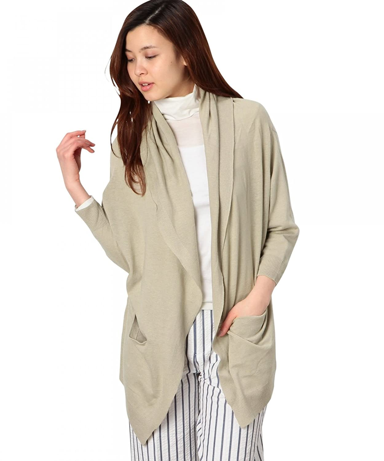 Amazon.co.jp: (ユナイテッドアローズグリーンレーベルリラクシング) UNITED ARROWS green label relaxing GC LI/C GOWN CD 36281810425 23 Beige フリー: 服&ファッション小物通販