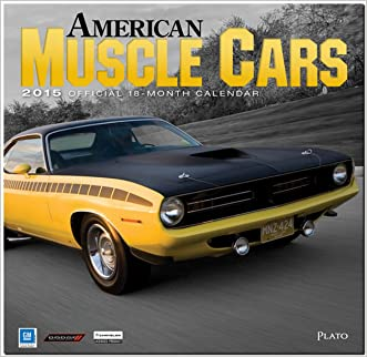 American Muscle Cars 2015 Square 12x12 Plato