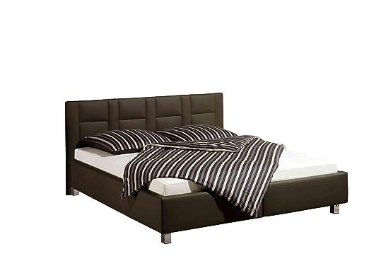 Maintal Betten 232660-4716 Polsterbett Keo 140 x 200 cm, braun