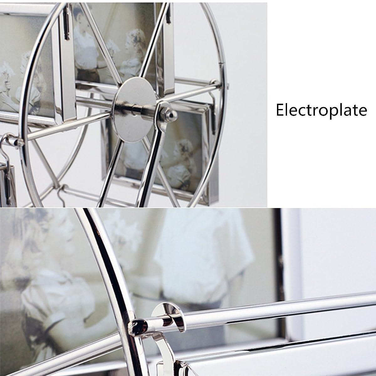 leecum Metal Ferris Wheel Photo Frame 3 inch or 5 inch Retro Style ...