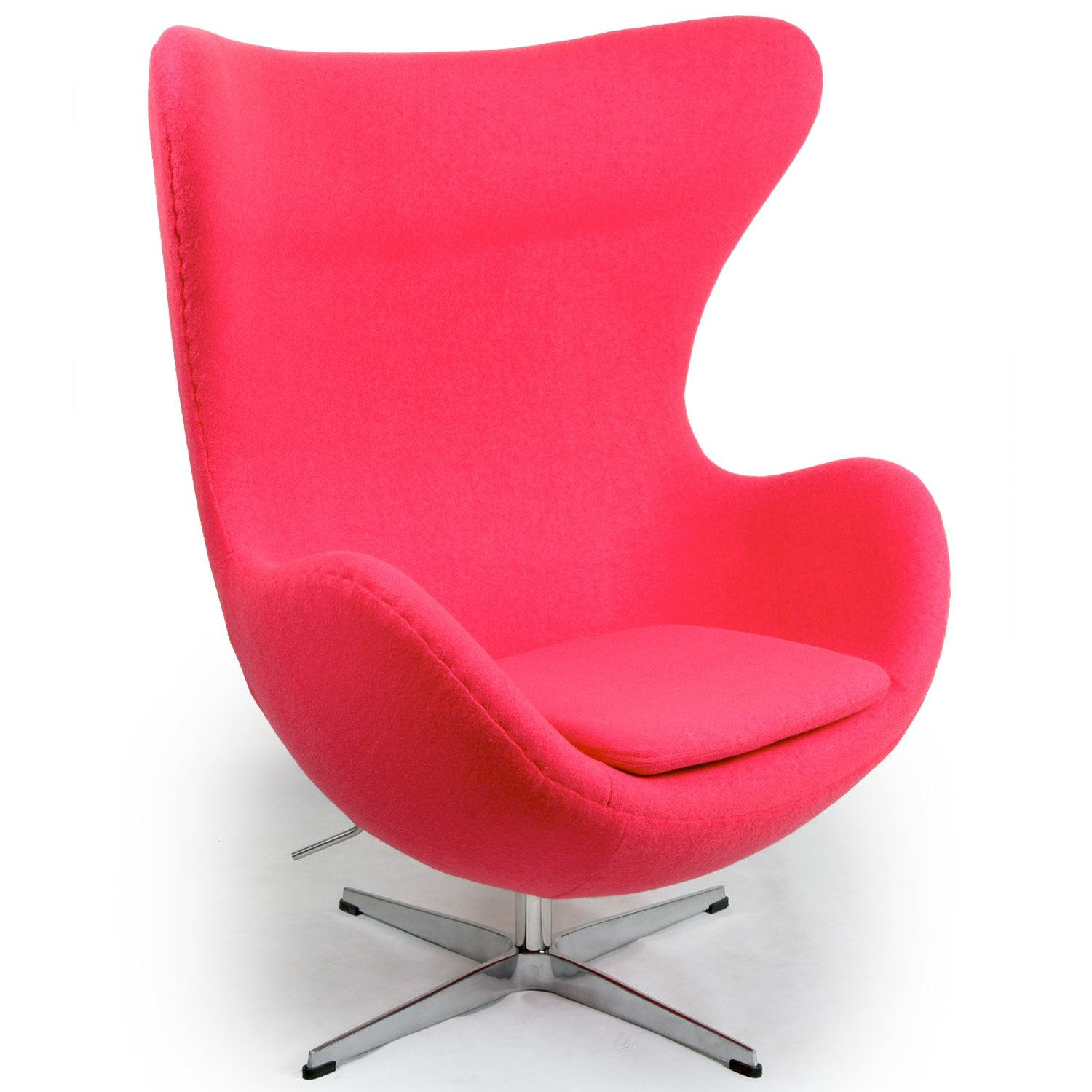 funky pink chairs for teen girls kardiel egg chair 360 degree swivel