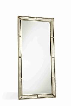 Ava Farrah Mirrored Bedroom Furniture (Floor Mirror)