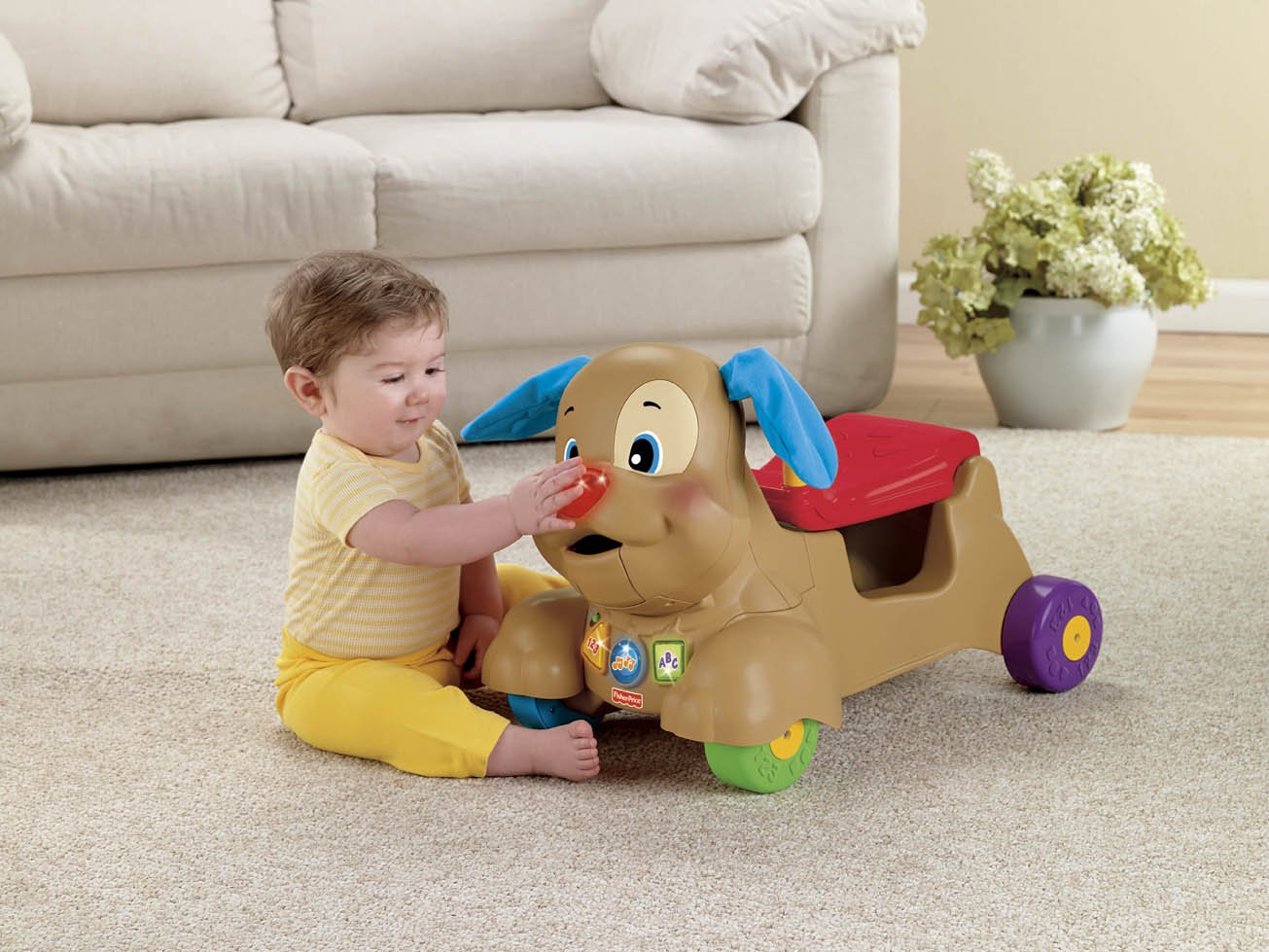 New $10/1 Fisher Price Laugh & Learn Stride-to-Ride Sis or ...