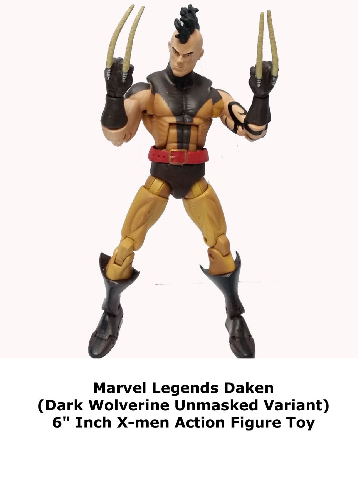 "Review: Marvel Legends Daken (Dark Wolverine Unmasked Variant) 6"" Inch X-men Action Figure Toy"