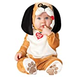InCharacter Costumes Baby's Puppy Love Costume, Tan, X-Small (Color: Tan/White/Black, Tamaño: X-Small)