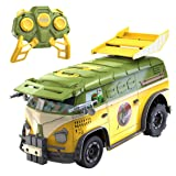 NIKKO 9045 R/C Teenage Mutant Ninja Turtle Party Van (Color: Green , Yellow, Tamaño: 20.57 x 24.38 x 44.2)