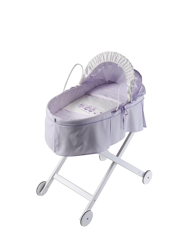 Naf-Naf 30131 Babytragekorb und Struktur des holzes Design Cuak 50% Baumwolle 50% Polyester, lilac günstig kaufen