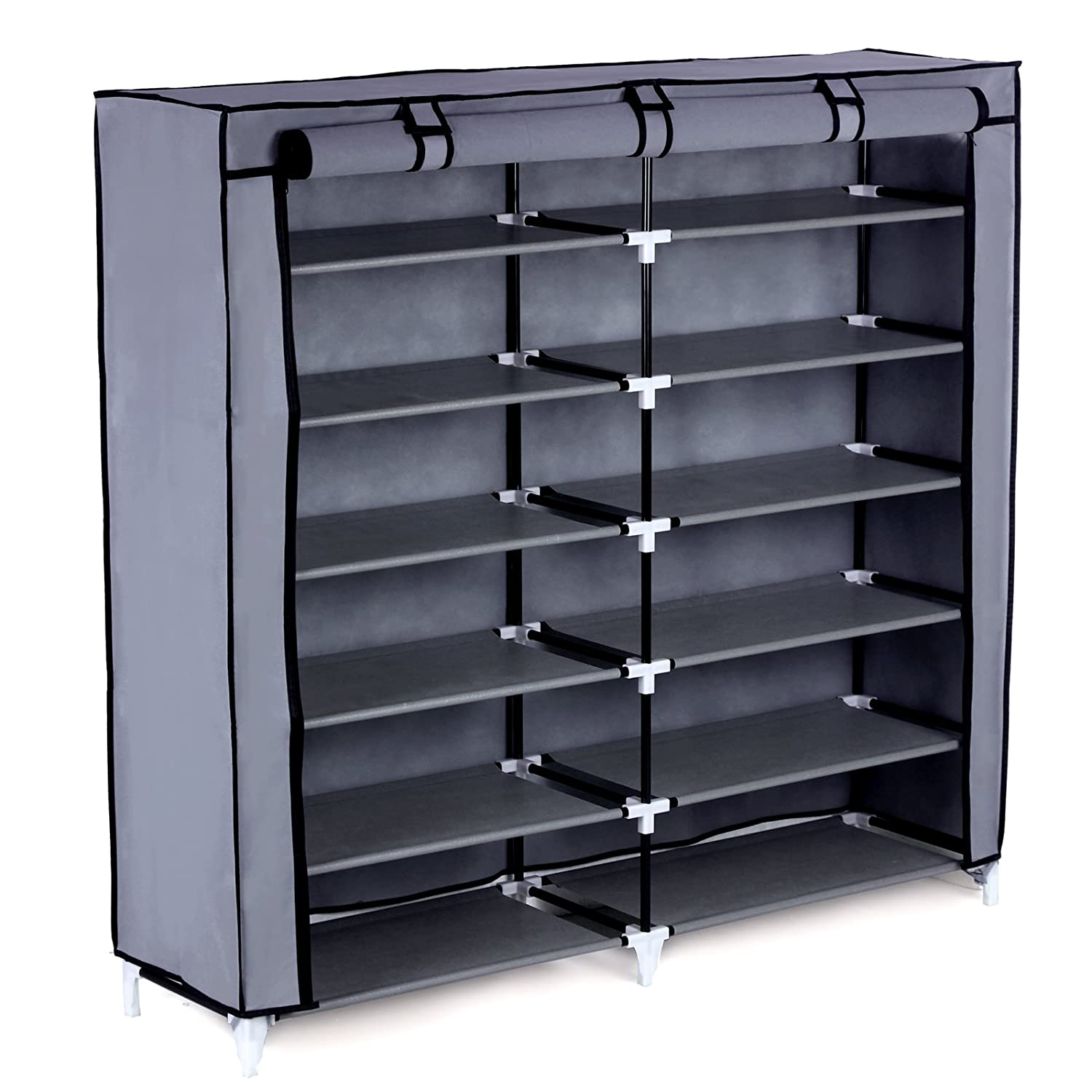 top 10 best shoe rack organizers reviews 2016 2017 on flipboard by matilda. Black Bedroom Furniture Sets. Home Design Ideas