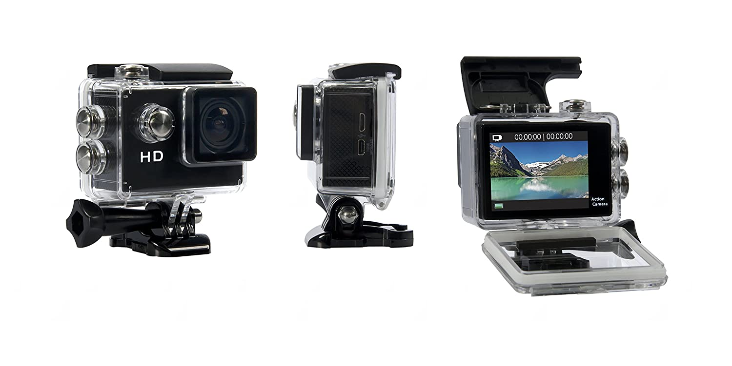 Geekpro Camera Review : Top best sports camera adventure camera white summary