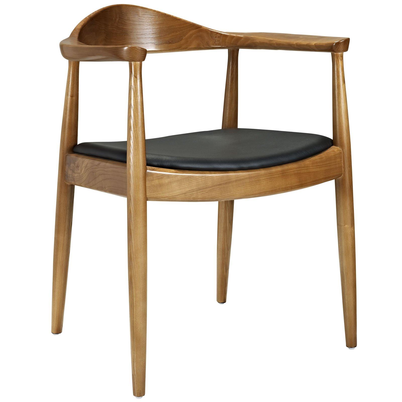 Great Hans Wegner Round Chair #15 - LexMod Hans Wegner Style Presidential Election Round Chair