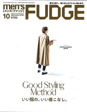 men's FUDGE - メンズ ファッジ - 2020年 10月号 Vol.125 (日本語)