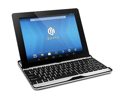 "Danew Dslide 973 QC Tablette tactile 9,7"" (24,64 cm) Boxchip A31s 1,5 GHz 8 Go Android Jelly Bean 4.2.2 Wi-Fi Noir"