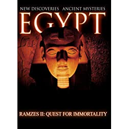 Egypt New Discoveries  Ramses II: The Quest For Immortality [Blu-ray]