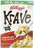 Kellogg's Krave Chocolate Cereal, 11.4-Ounce (Pack of 4)