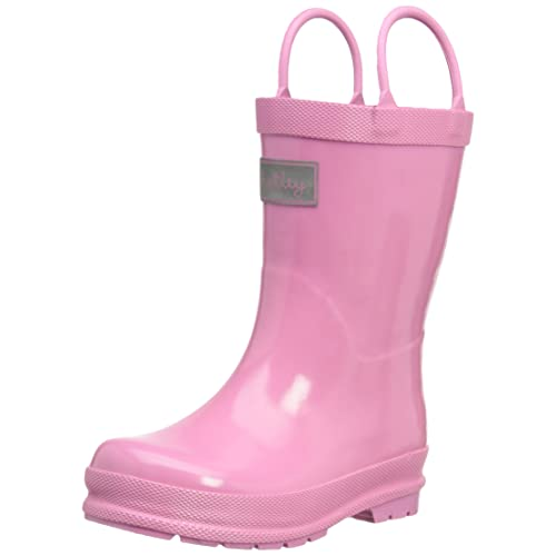 Hatley Little Girls Toddler Rubber Boot-Pink