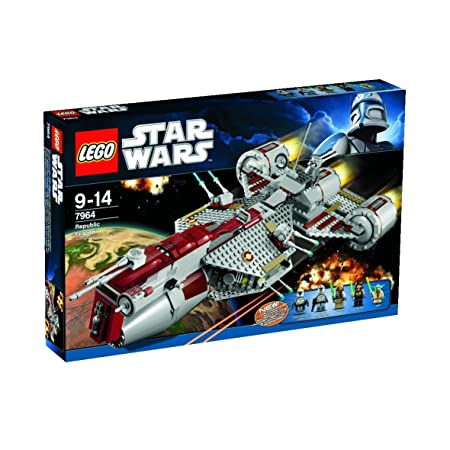 Lego Star Wars - 7964 - Jeu de Construction - Republic Frigate