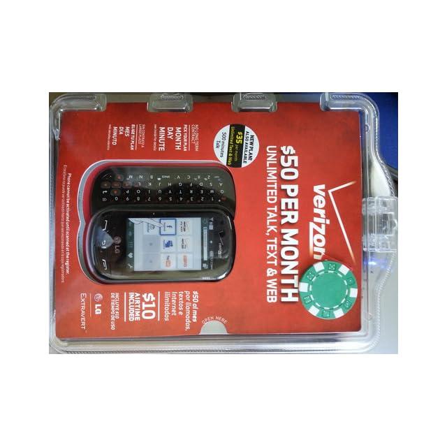 LG Extravert Prepaid Phone (Verizon Wireless) Cell Phones
