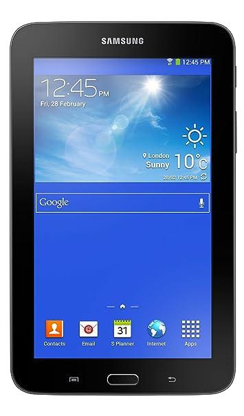 "Samsung Galaxy Tab 3 Lite Tablette tactile 7"" Dual Core 1,2 GHz 8 Go Wi-Fi Noir"