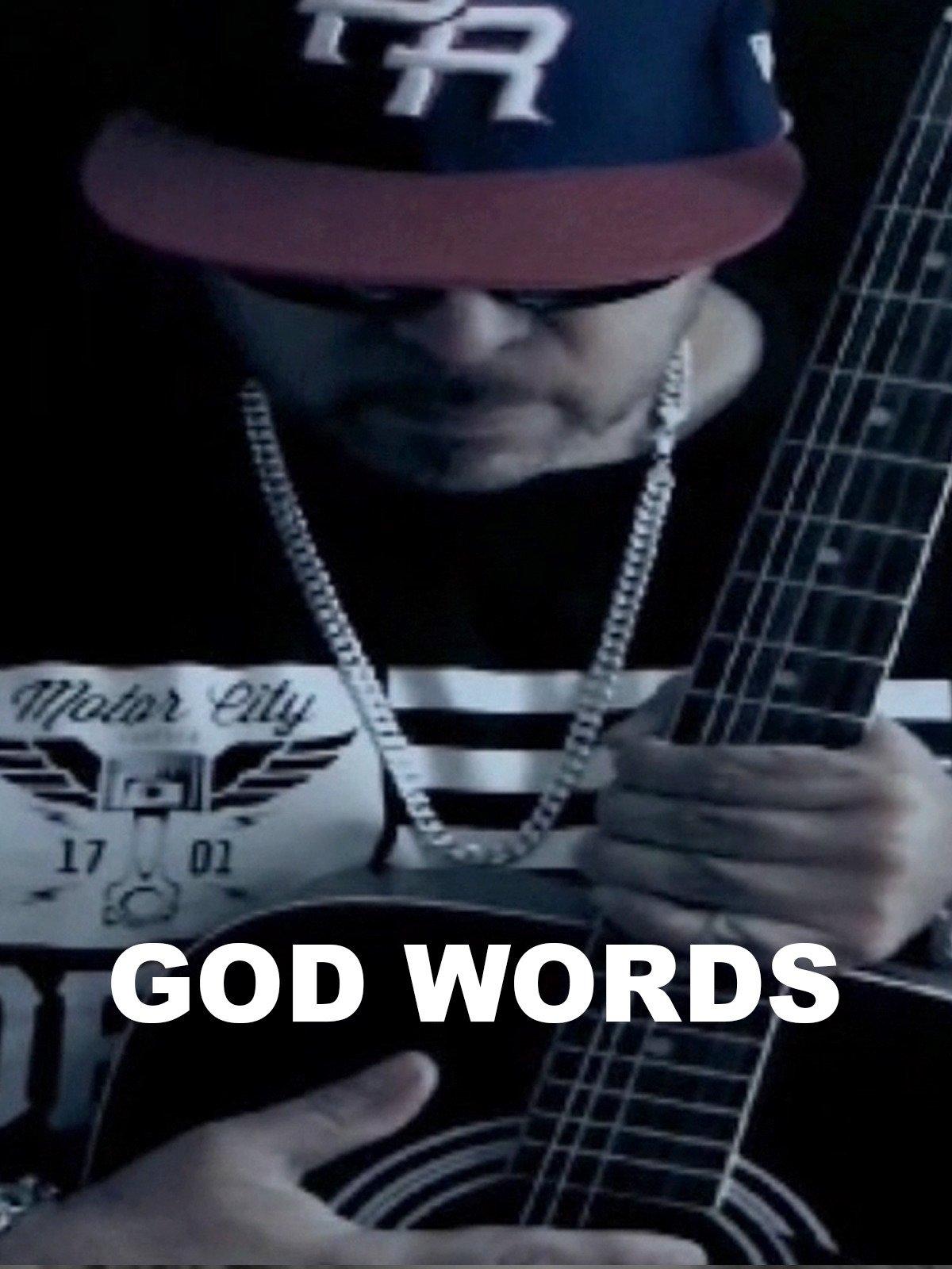 God Words on Amazon Prime Video UK