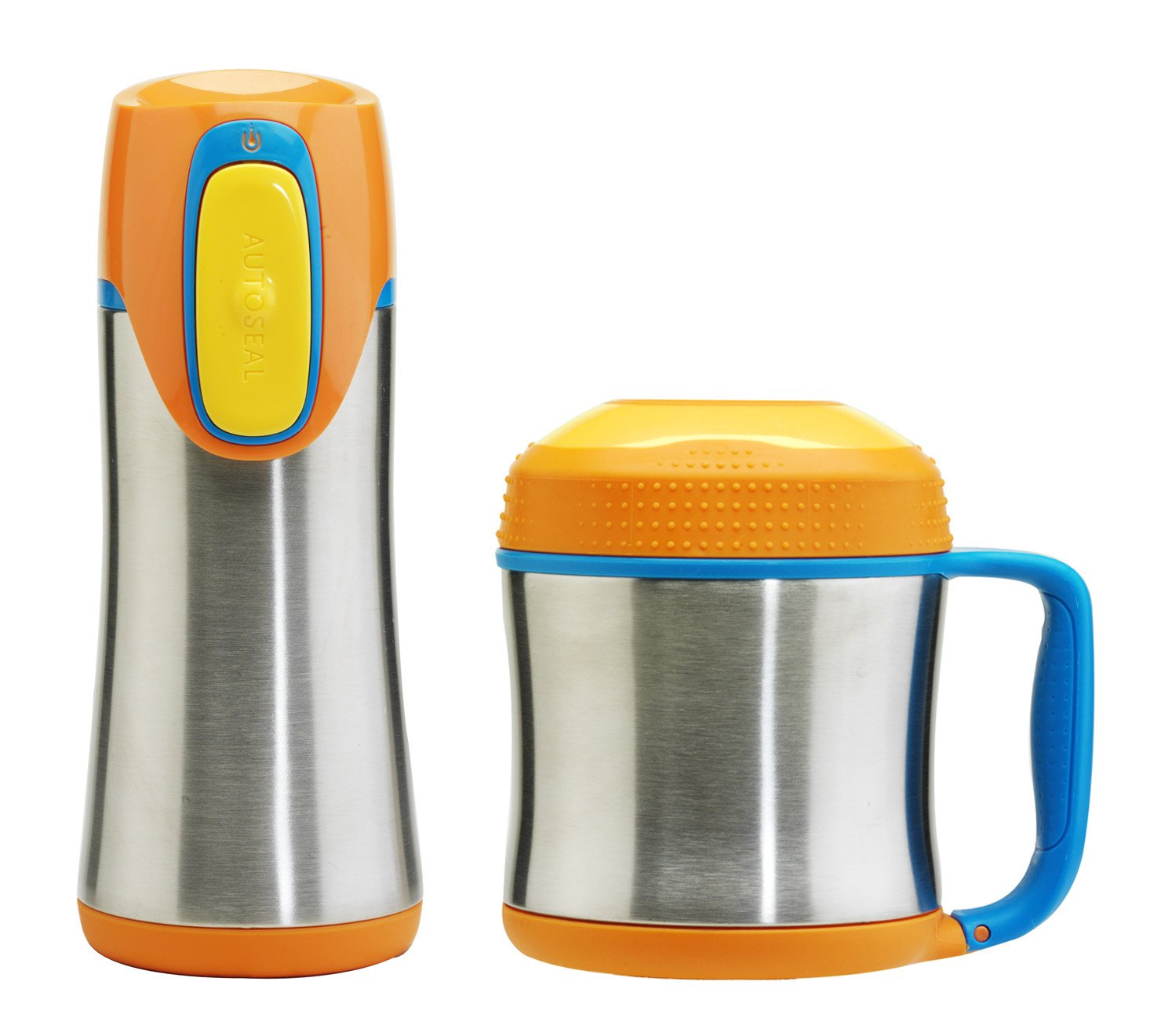 Premier Housewares Contigo Kids Scout Isoliergefäß und Thermobecher je 330 ml Orange    Kundenbewertungen