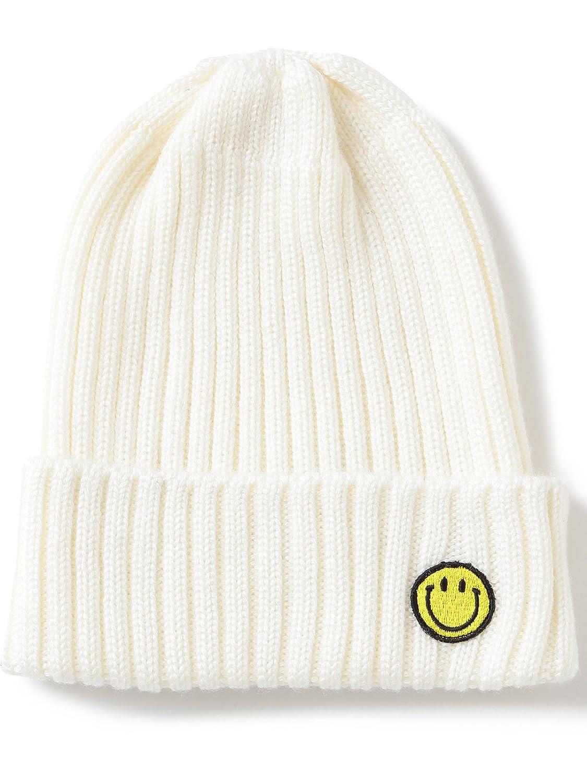 (レイビームス) Ray BEAMS MASACA HAT(マサカハット) / スマイル ニット帽 61410263298 ホワイト ONE SIZE : 服&ファッション小物通販 | Amazon.co.jp