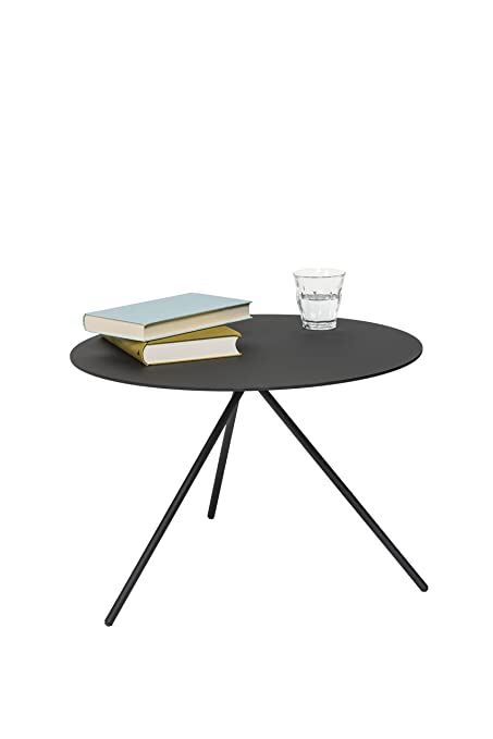 Lourens Fisher Mindy tavolino, metallo, nero
