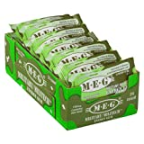 MEG - Military Energy Gum   100mg of Caffeine Per Piece + Increase Energy + Boost Physical Performance + Spearmint 24 Pack (120 Count)