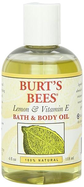 海淘按摩油:Burt's Bees 小蜜蜂天然柠檬维生素E按摩油