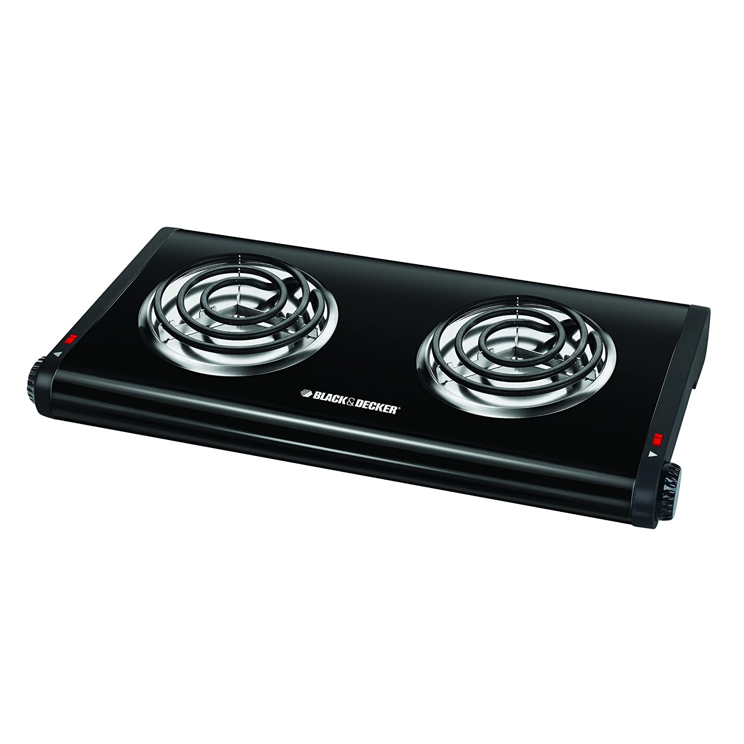 Countertop Gas Stove Portable : Double Burner Portable Buffet Range Heat Countertop Lightweight ...