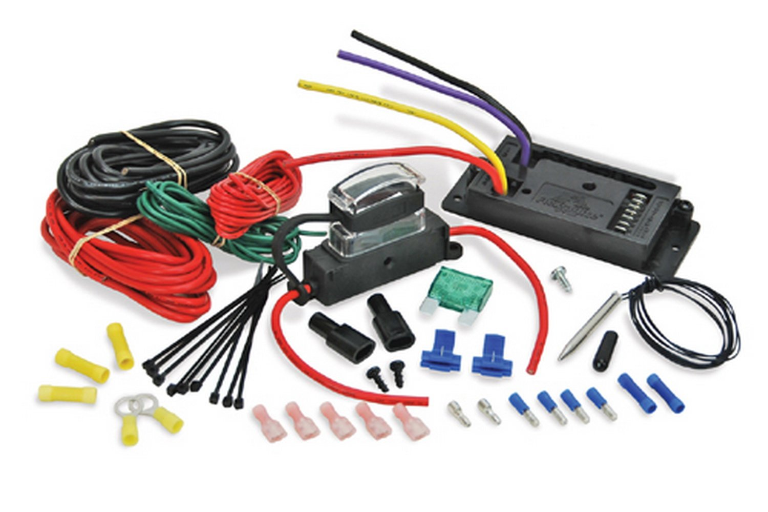 Ford Contour Fan Wiring Harness Trusted Schematics Diagram Cooling Flex Vs Electric Vannin Community And Forums Mustang