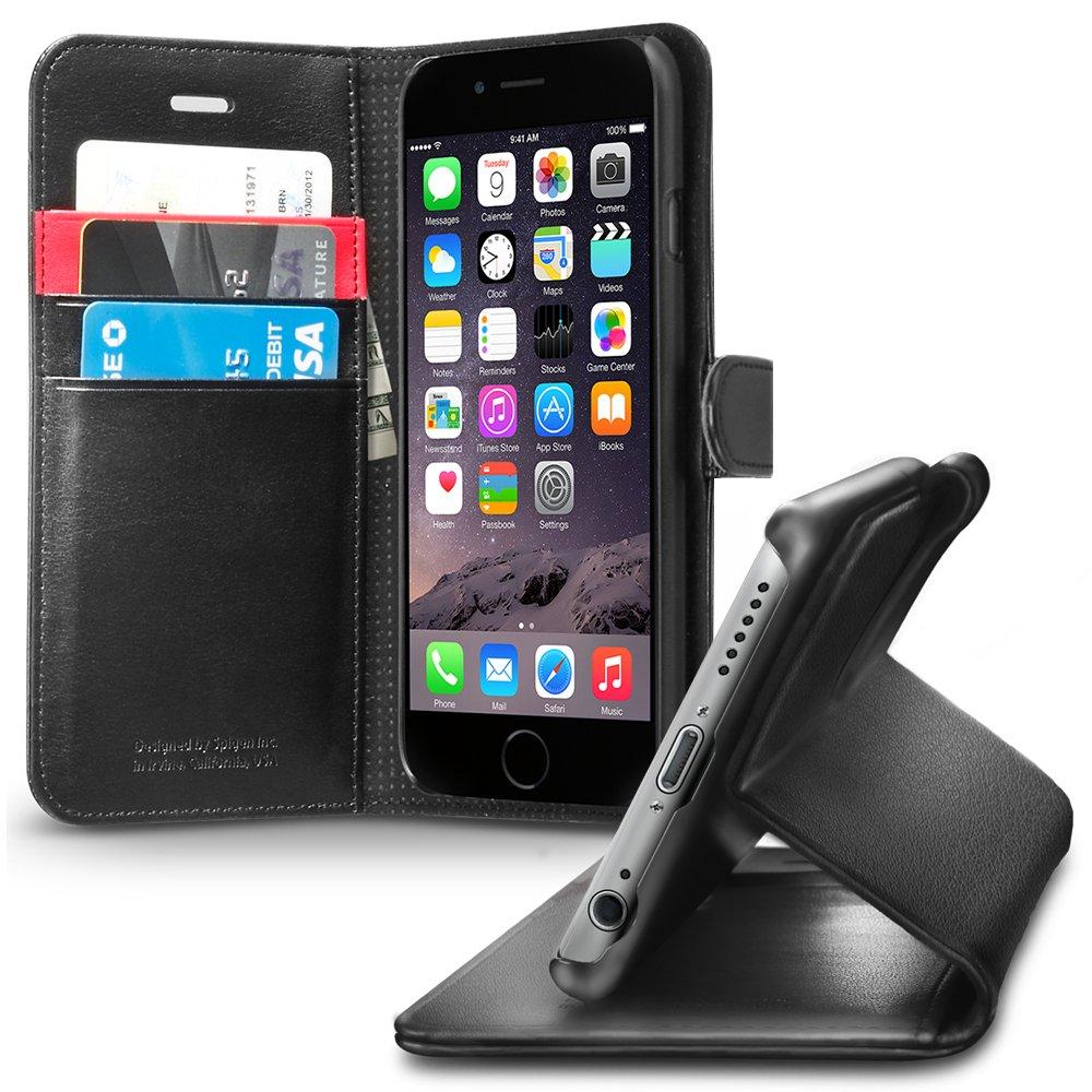 Spigen SGP10972 - Funda para Apple iPhone 6, negro  Electrónica Comentarios de clientes y más información