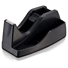 "Officemate Deluxe Heavy Duty Tape Dispenser ""Extra"", Black (96686)"
