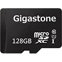 Gigastone GS-2IN1C10128G-R 128GB Class 10 UHS-1 U1 48MB/s microSDXC Memory Card with Adapter (Black)
