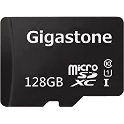 Gigastone 128GB UHS-I / Class 10 microSDXC Memory Card with SD Adapter