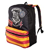 Harry Potter Hogwarts 16 inch Backpack (Color: Black w/ Hogwarts Seal)