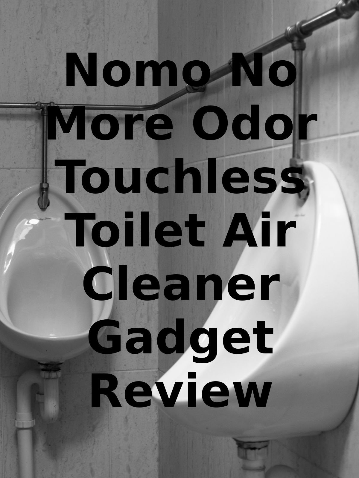 Review: Nomo No More Odor Touchless Toilet Air Cleaner Gadget Review on Amazon Prime Video UK