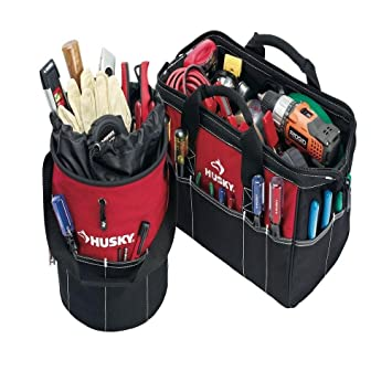 Husky Tool Bag With Shoulder Strap 21