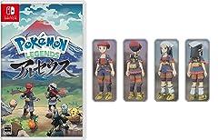 Pokemon LEGENDS アルセウス -Switch (【早期購入特典】プロモカード「アルセウスV」 ×1 同梱)【Amazon.co.jpオリジナル特典】着物セット ガブリアスが先行入手できるコード 配信