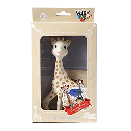 Amazon.com : Vulli Sophie the Giraffe Teether, Brown/White : Baby Teether Toys : Baby