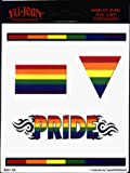 Image of Gay Pride Rainbow 5 Pack of Stickers / Decals - 5 Separate Stickers! - Sticker / Decal